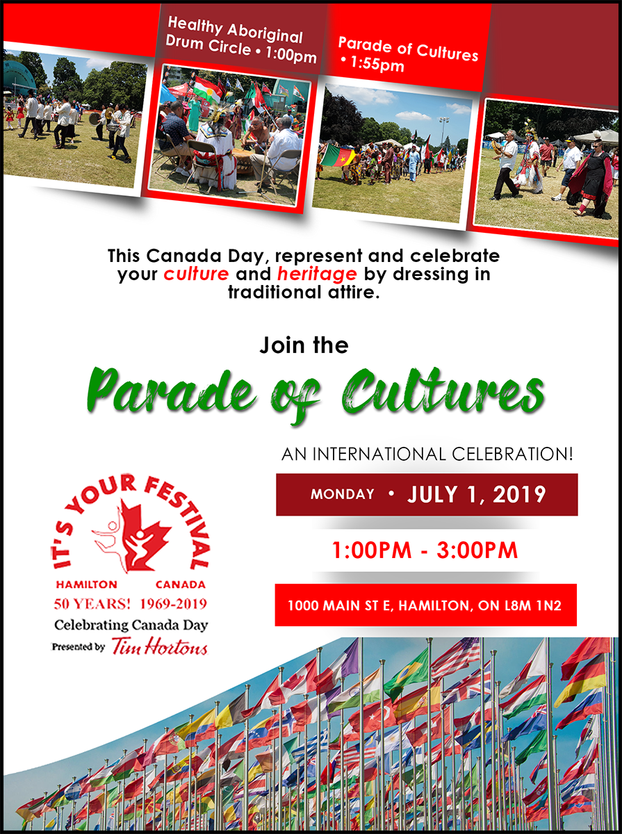 Parade of Cultures – It's Your Festival – 50 Years!